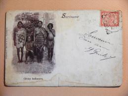 SURINAM - Groep Indianern - Surinam