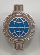 BIATHLON - Minsk, 1974. World Cup, Vintage Pin, Badge - Biathlon
