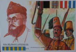 REGIO ESERCITO AFRICA ORIENTALE GEN. ORLANDO LORENZIN MEDAGLIA D'ORO CHEREN 1941 - War 1939-45
