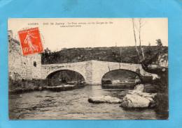 SAINT JUERY-le Pont Romain Sur Les Gorges Du Bès-a Voyagé En 1916-édition Malroux - France