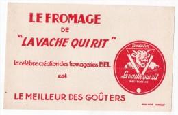 """Buvard - Le Fromage De  """"La Vache Qui Rit"""" La Célèbre Création Des Fromageries Bel - Produits Laitiers"""