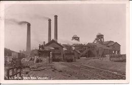 WATH MAIN COLLIERY REAL PHOTOGRAPH 1916?   Re298 COAL-MINE Locomotives - Autres