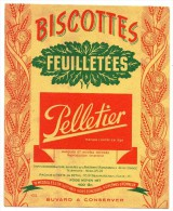 Buvard - Biscottes Feuilletées Pelletier - Biscottes