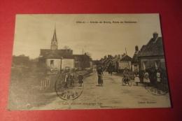 C P Crulai Entree Du Bourg Route De Randonnai - France