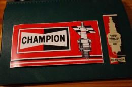 Lot Autocollants Champion Autocollant - Altri