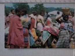 Cart -  Africa - Tanzania - Market Day In Northern Part Of Tanzania. - Tanzania
