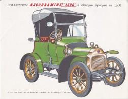 PUBLICITE PHARMACIE LABORATOIRE MAUCHANT ASCORBAMINE SERIE AUTOMOBILES N°2 A 9 LOT DE 8 DOCUMENTS - Werbung