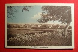 MAZILLE  ( S Et Loire ) -  VUE GÉNÉRALE - MUR EN PIERRES  SÈCHES  - - Autres Communes