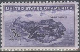 1944 3 Cents WW2 Corregidor Mint Never Hinged - Verenigde Staten