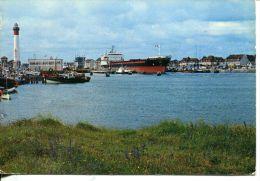 N°1358A -cpsm Riva Bella -cargo Sortant Du Grand Sas Et Le Phare- - Commerce