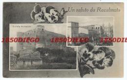 UN SALUTO DA RACALMUTO - MULTIVEDUTE  F/PICCOLO VIAGGIATA ANIMATA - Agrigento