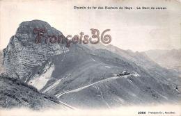 (Suisse) - Berne - Chemin De Fer Des Rochers De Naye - La Dent De Jaman - 2 SCANS - BE Berne