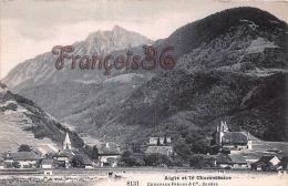 (Suisse) - Vaud - Aigle Et Le Chamossaire - 2 SCANS - VD Waadt
