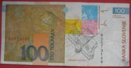 100 Tolarjev  1992 (WPM 14a) - Slovénie
