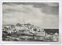 OSTUNI - BRINDISI -  1954 - PANORAMA - Brindisi