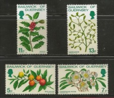 GUERNSEY, 1978, Mint Never Hinged Stamps, Christmas,   169-172, #nr. 5155 - Guernsey