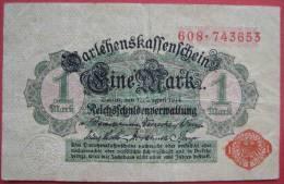 1 Mark 1914 (WPM 51) 12.8.1914 - [ 2] 1871-1918 : Duitse Rijk