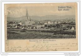 Obliteration Belgique 1899 Tourpes Saint Ghislain Sur Panorama Kaiserslautern - Belgique