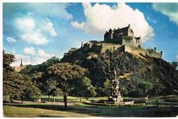 Carte Postale - Edinburgh Castle - Midlothian/ Edinburgh