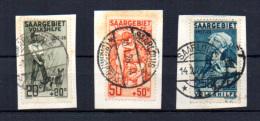 1926  œuvres Populaires, 103-105- 106 Ø, Cote 104 €, - 1920-35 League Of Nations