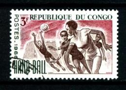 Repubbl. Del CONGO - Year 1966 - Hand Ball  - Usato - Used. - Pallamano