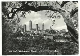 Siena - Città Di S.Gimignano - Panorama Dal Poggio. - Siena