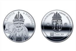 "PORTUGAL  5 € 2.014 2014 Cu Ni  UNCIRCULATED  ""LEONOR DE PORTUGAL""  T-DL-11.163  Austria - Portugal"