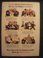 2e GUERRE MONDIALE . PROPAGANDE ANTI-RUMEURS / GERÜCHTE . BUNTER BILDER BOGEN NR.4 SCHROFF-DRUCK, AUGSBURG - 1939-45