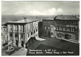 Siena - Montepulciano - Piazza Grande - Palazzi Tarugi E Dal Monte.. - Siena