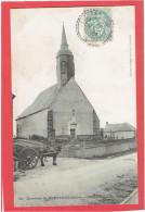 LIGNEROLLES 1905 L EGLISE CARTE EN TRES BON ETAT - France