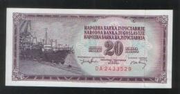 YUGOSLAVIA 20 Dinara 1974 - Yugoslavia
