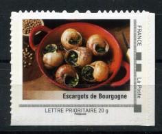 """Les Escargots De Bourgogne Adhésif Neuf ** . Collector """" Bourgogne """" 2009 - France"""