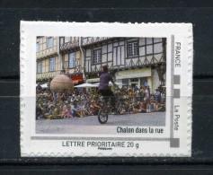 """Chalon Dans La Rue Adhésif Neuf ** . Collector """" Bourgogne """" 2010 - France"""