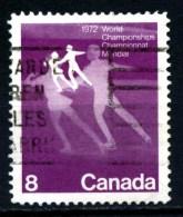 CANADA - Year 1972 - Campionati Mondiali Pattinaggio Artistico - Pair Skating  - Usato - Used. - Pattinaggio Artistico