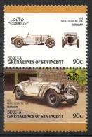 Bequia Grenadines St. Vincent 1986 - Auto, Cars Mercedes MNH ** - St.Vincent E Grenadine