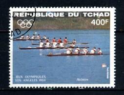 Repubbl. Del TCHAD - Year 1984 - Olimpiadi Di LOS ANGELES - Kayak - Usato - Used. - Canottaggio