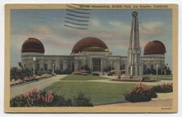 CA ~ Planetarium LOS ANGELES California 1947 Griffith Park