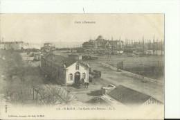 TH506   --   St. MALO, , FRANCE   --   LES QUAIS ET LA DOUANE  --   ATTELAGE - Dogana