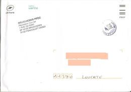 Enveloppe La Poste Avec Code FRAV + Cachet La Poste - Documents De La Poste