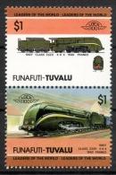 Tuvalu Funafuti 1985 - Treno Locomotiva, Train Locomotive MNH ** - Tuvalu