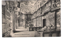Austria - Bibliothek Im Stift St. Florian - Liberty - Old Card - Libraries