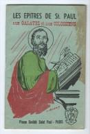 Livret - Les Epitres De St Paul Aux Galates Et Aux Colossiens - Religione