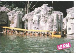Le PAL Avec Le 1er Train Aquatique , Une Attraction Unique En Europe , Allier , Cpm, 1988 , Cedra , 2 Scans - Eisenbahnen
