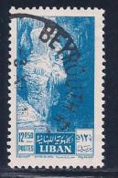 Lebanon, Scott # 293 Used Jeita Cave, 1955 - Liban