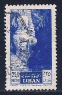 Lebanon, Scott # 294 Used Jeita Cave, 1955 - Liban