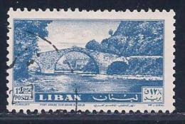 Lebanon, Scott # 312 Used Dog River Bridge, 1957 - Libano