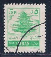 Lebanon, Scott # 318 Used Cedar, 1957 - Lebanon