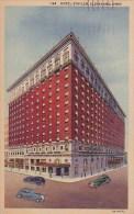 Ohio Cleveland Hotel Statler 1955
