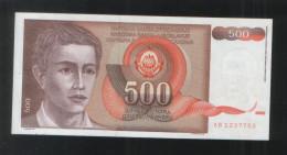 YUGOSLAVIA 500 Dinara 1991 - Yugoslavia