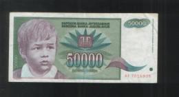 YUGOSLAVIA 50000 Dinara 1992 - Yugoslavia